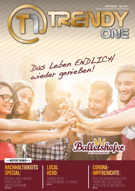 TRENDYone   Das Magazin – Augsburg – Mai 2021