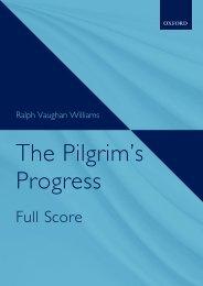 Vaughan Williams - The Pilgrim's Progress (Full Score)