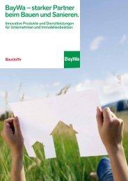 BST Broschuere starker Partner - BayWa AG
