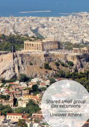 Athens tours , Shared small group day trips