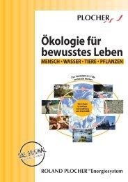 Ökologie für bewusstes Leben - Energie & Materie