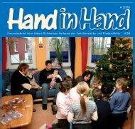 Hand in Hand 4/08 - Albert-Schweitzer-Kinderdorf Thüringen e.V.