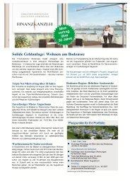 Augustinum Finanzkanzlei Flyer - Bodensee Sachwert