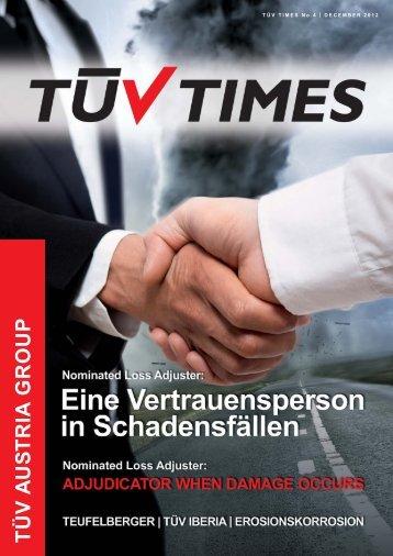 TÜV TIMES Dezember 2012 - TÜV Austria