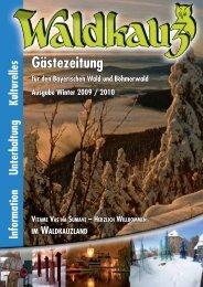 Winterausgabe 2009 /2010 - Waldkauz - Steiner Design Verlag