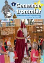 notruftelefon – weihnachtsaktion - Höflein