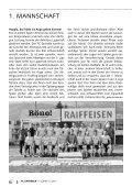 Vielseitigkeit ist unsere Stärke. - FC Sachseln - Seite 6