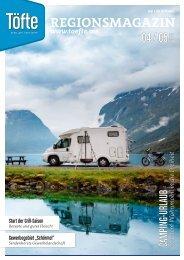 Töfte Regionsmagazin 04/2021 - Willkommen im Camping-Urlaub