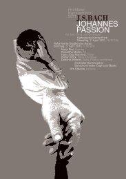 jsbach johannes passion - Fricktaler Kammerchor