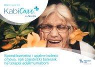 KabiCare časopis - 2. izdanje: Travanj 2021. staro