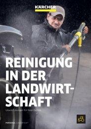 REINIGUNG IN DER LANDWIRTSCHAFT