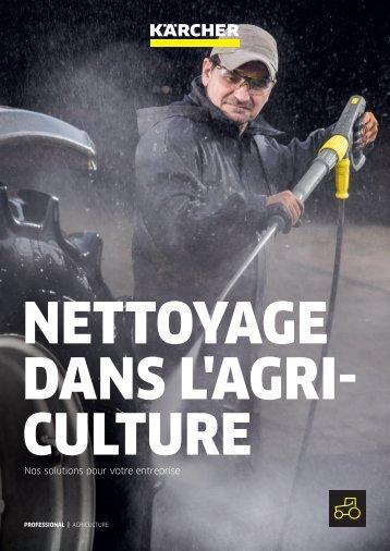 NETTOYAGE DANS L'AGRICULTURE