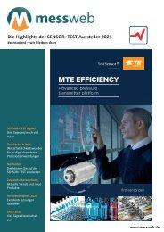 messweb E-Paper SENSOR+TEST 2021
