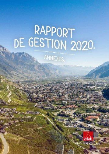 Rapport de gestion annexes 2020