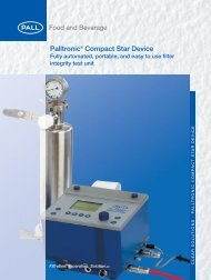 palltronic compact star dev... - Pall Corporation