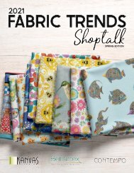 2021 Fabric Trends Shoptalk - Spring Edition
