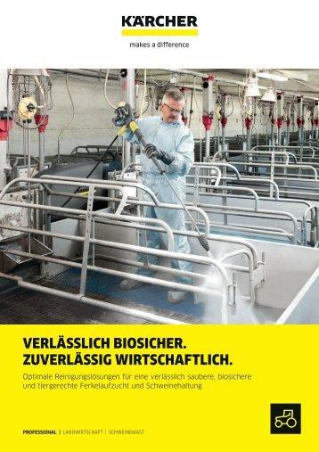 VERLÄSSLICH BIOSICHER. ZUVERLÄSSIG WIRTSCHAFTLICH.