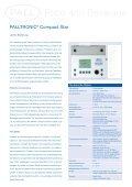 Palltronic® Compact Star - Filtra - Seite 3