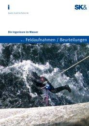 Nr. 3 Feldaufnahmen / Beurteilungen - Staubli, Kurath und Partner AG