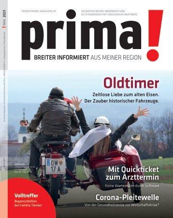Prima Magazin - Ausgabe Mai 2021