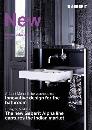 Product Magazine 2012 - Geberit International AG