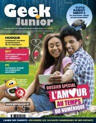 Geek Junior N°12 - mai 2021 - extrait
