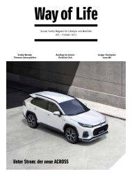 Suzuki Way of Life Magazin Frühling 2021