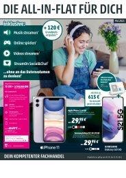 Telekom Monatsflyer Mai 2021