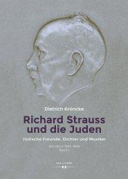 Leseprobe_Richard Strauss und die Juden