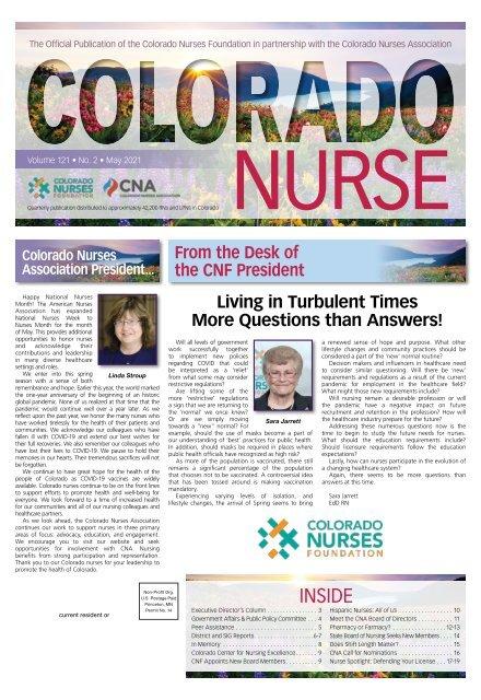 Colorado Nurse - May 2021