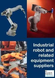 Industrial robot and related equipment suppliers - USC Upstate ...