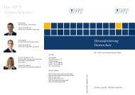 Herausforderung Datenschutz - RWT Reutlinger ...