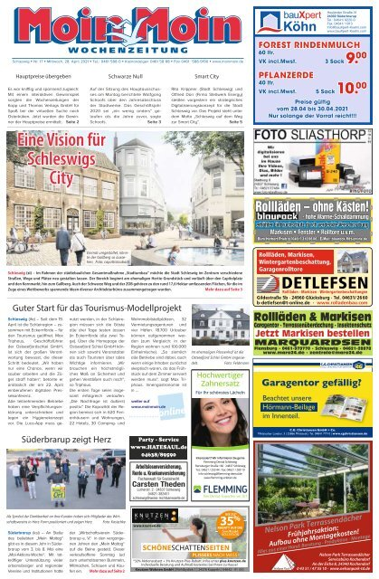 MoinMoin Schleswig 17 2021