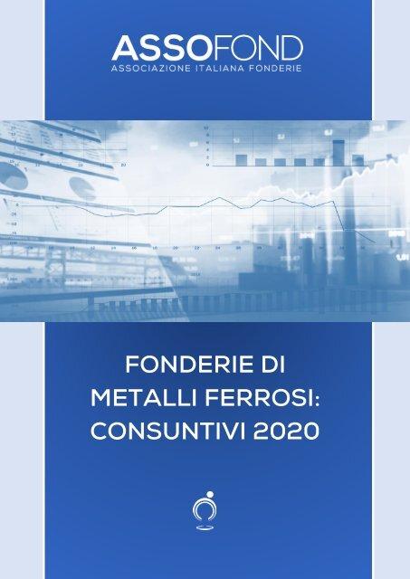 Fonderie di metalli ferrosi consuntivi 2020