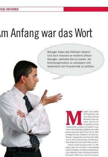 Am Anfang war das Wort - FACTS Verlag GmbH