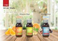 Vitamin Energy Shots mit Logo