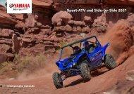 2021 Sport ATV und Side by Side Prospekt