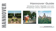 Hannover Guide - Post-Expo