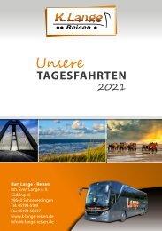 Tagesfahrten Sommer 2021