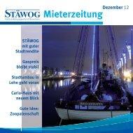 Dezember 2012 - Stäwog
