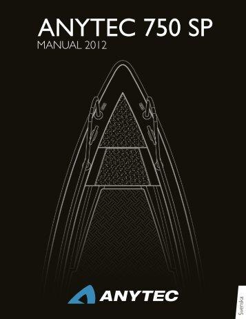 anytec 750 sp manual 2012