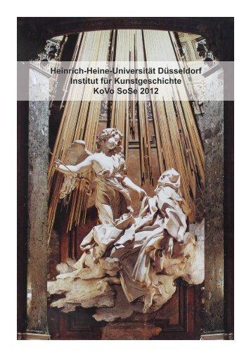 Wege ins Ausland - Philosophische Fakultät - Heinrich-Heine ...