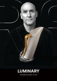 Luminary: Remembering Robert Foster