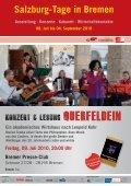 Salzburg-Tage in Bremen - Leopold Kohr Akademie - Seite 5