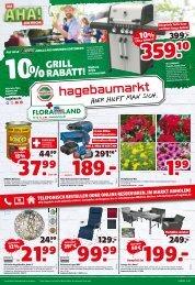 Floraland + Ihr bbk hagebaumarkt | KW 17