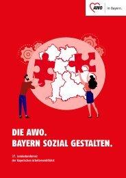 AWO Landesverband Bayern - Verbandsbericht 2016-2021