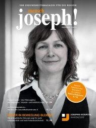 mensch joseph! | Magazin 1-2021