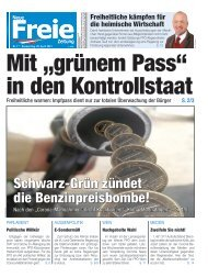 """Mit """"grünem Pass"""" in den Kontrollstaat"""