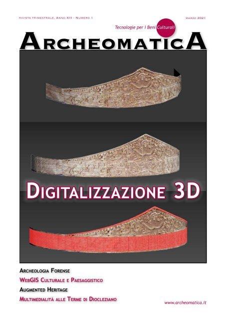 Archeomatica 1 2021