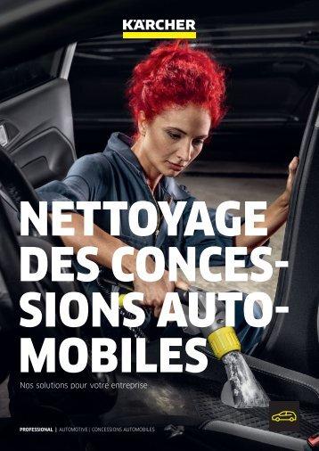 NETTOYAGE DES CONCESSIONS AUTOMOBILES